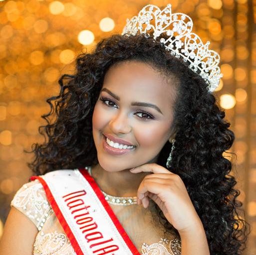 National American Miss Teen Queen - Hermona Girmay
